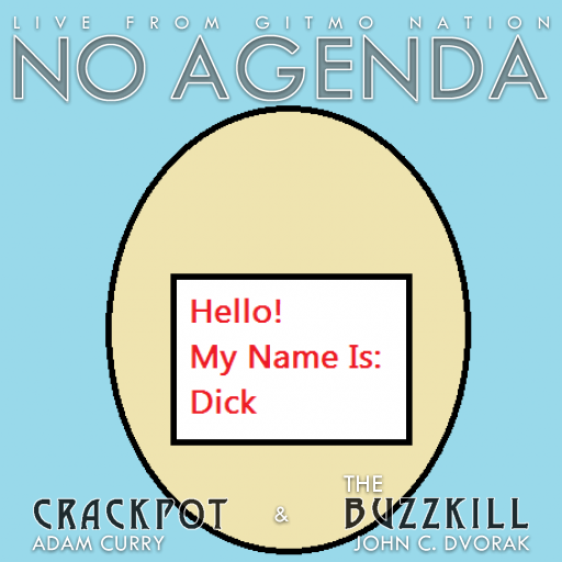 No Agenda Album Art by GummyNerds