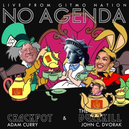 No Agenda Album Art by BodyWornBobby
