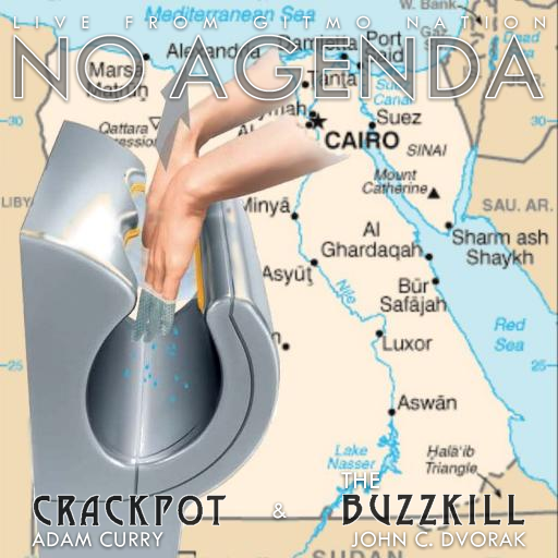 No Agenda Album Art by Osif Equax