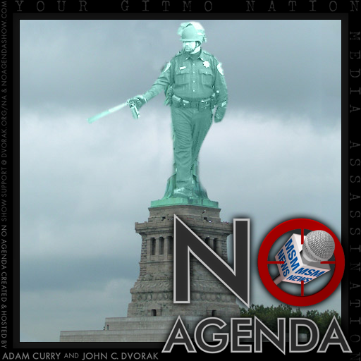 No Agenda Album Art by Bonked