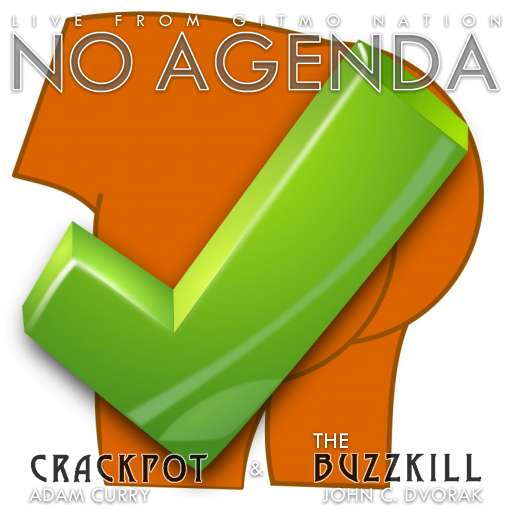 No Agenda Album Art by 20wattbulb