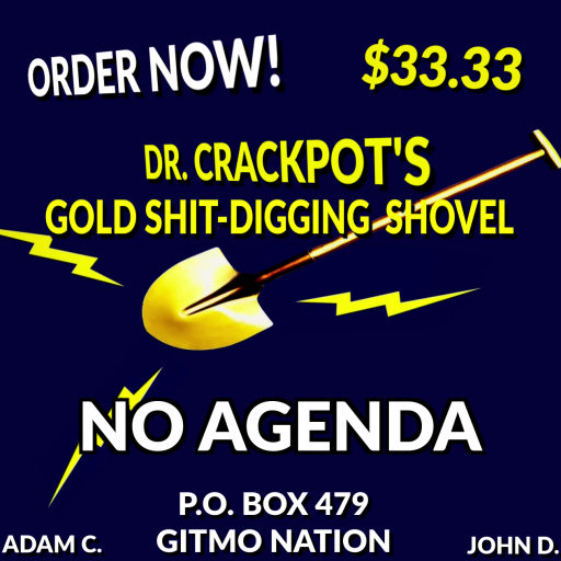 No Agenda Album Art by acidkey