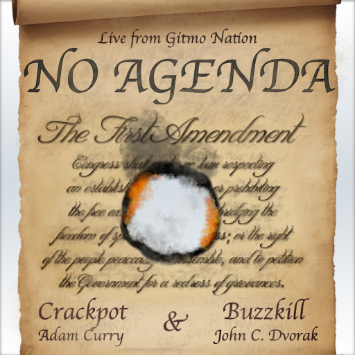 No Agenda Album Art by NadiaGruber
