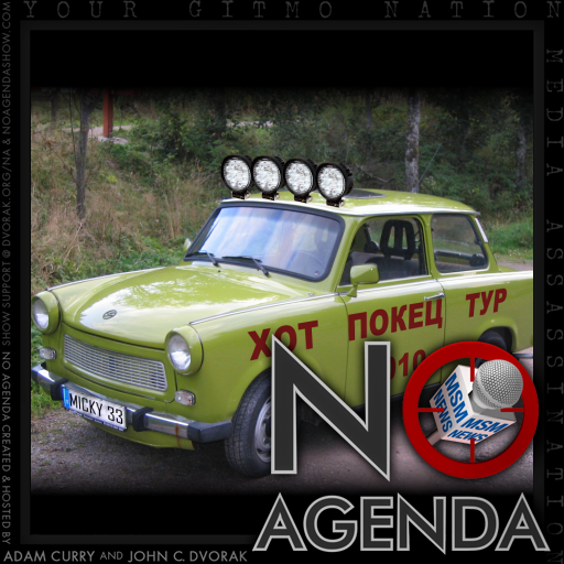 No Agenda Album Art by Valued Cardholder