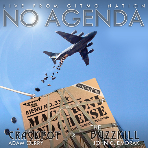 No Agenda Album Art by Jack Boots