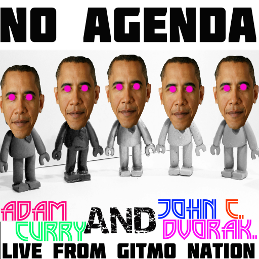 No Agenda Album Art by ubiktd