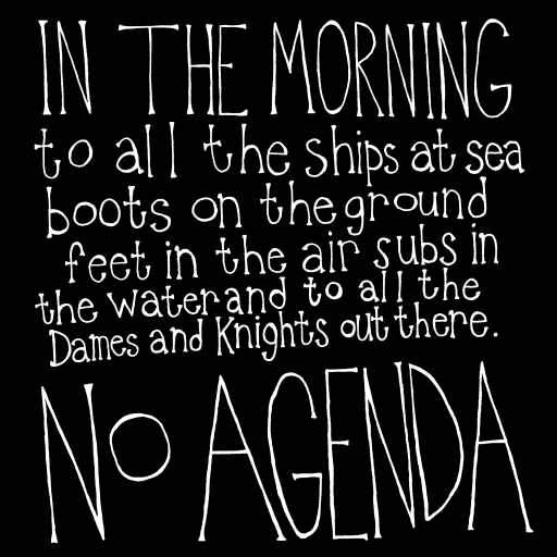 No Agenda Album Art by ttunks