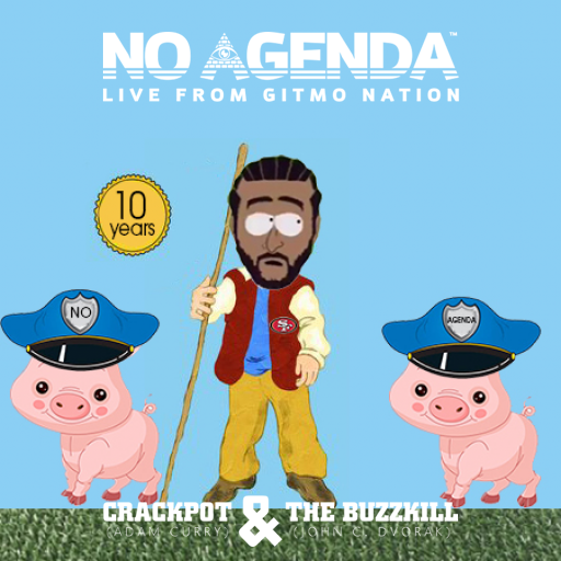 No Agenda Album Art by midevilco
