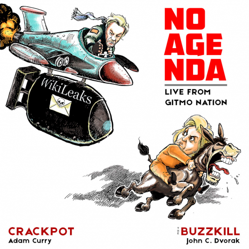 No Agenda Album Art by LedermanStudio