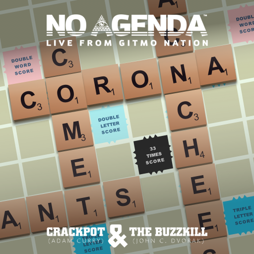 No Agenda Album Art by rewritingyesterday