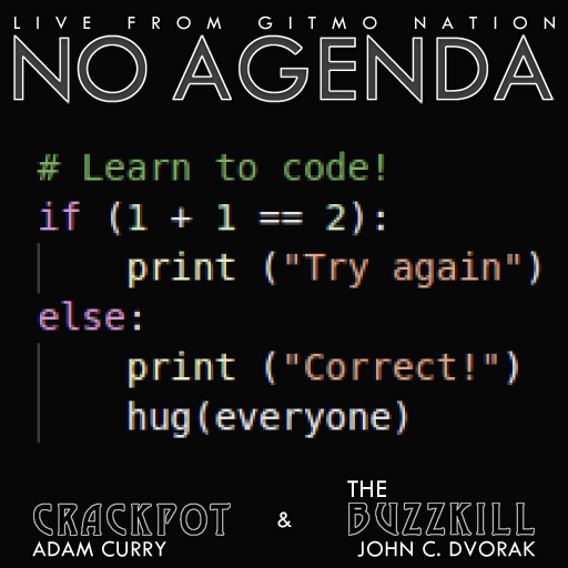 No Agenda Album Art by Sir3D